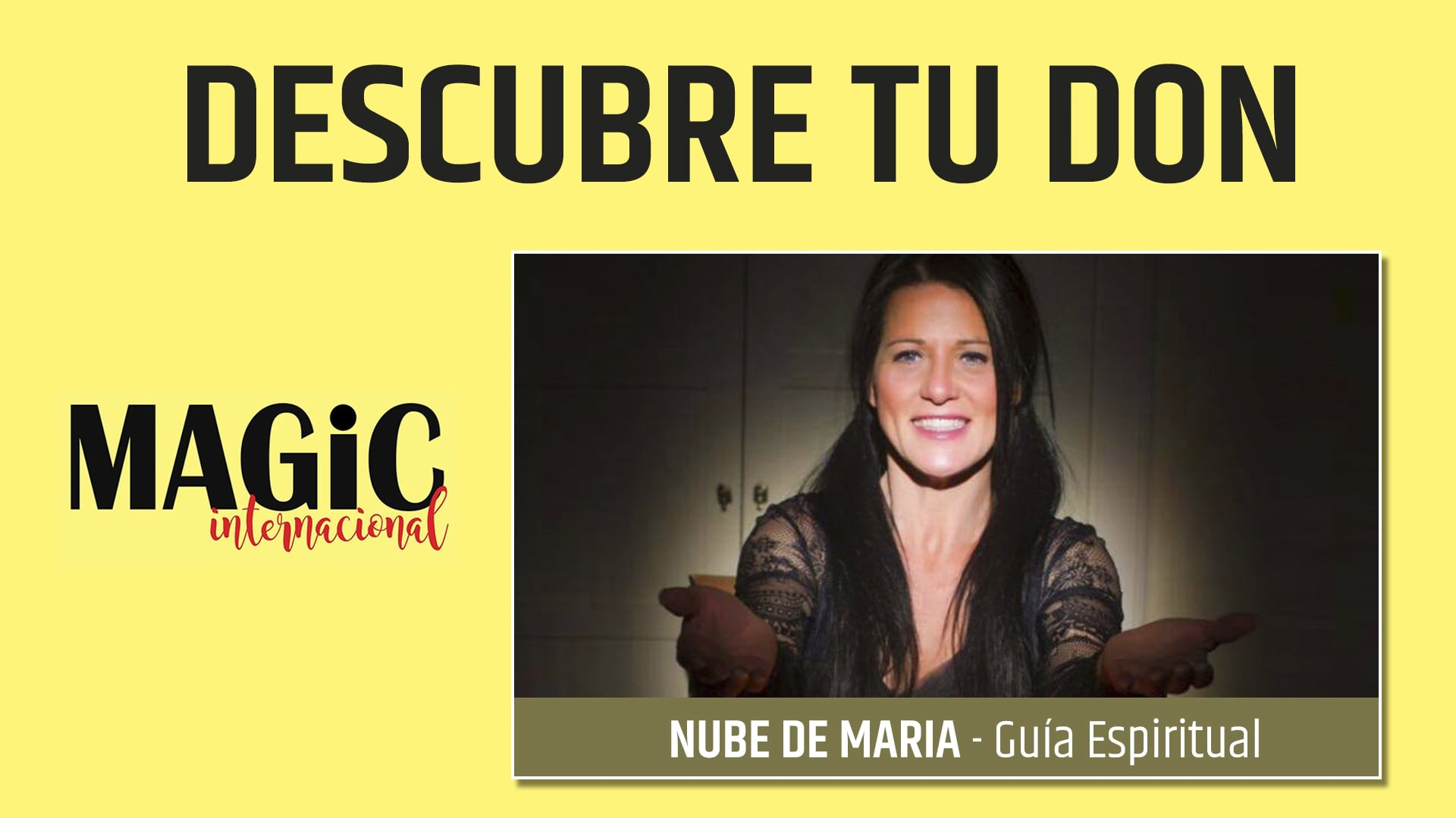 19 – DESCUBRE TU DON – Nube de María ( Feria Magic Internacional'18 ) – Vimeo thumbnail