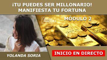 Yolanda Soria INICIO EN DIRECTO Modulo 2 – PUEDES SER MILLONARIO
