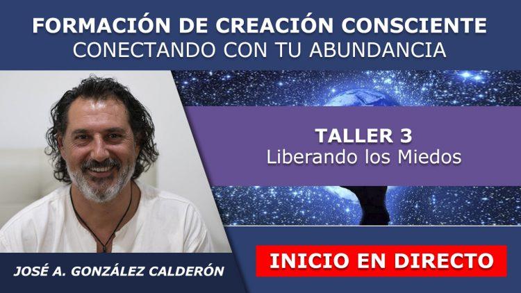 Jose Antonio G. Calderon – Taller 3 Inicio en Directo – FORMACION CREACION Y ABUNDANCIA
