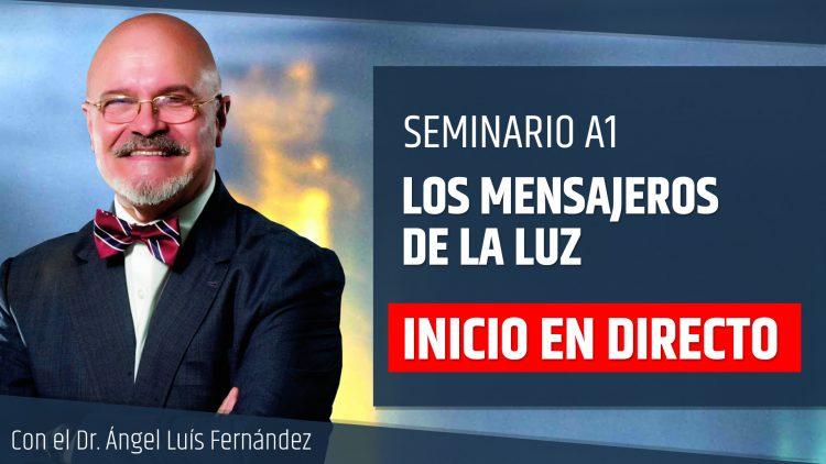 Portada Inicio en directo – Ángel Luis Fernandez – LOS MENSAJEROS DE LA LUZ
