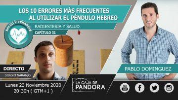 Pablo Dominguez – 10 ERRORES PENDULO HEBREO