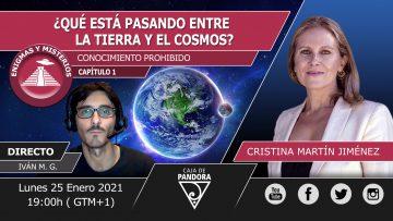 Cristina Martín – QUE ESTA PASANDO ENTRE LA TIERRA Y EL COSMOS