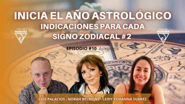 Inicia el Año Astrológico. Indicaciones para cada Signo Zodiacal #2 – Norah Belmont, Leidy Suarez